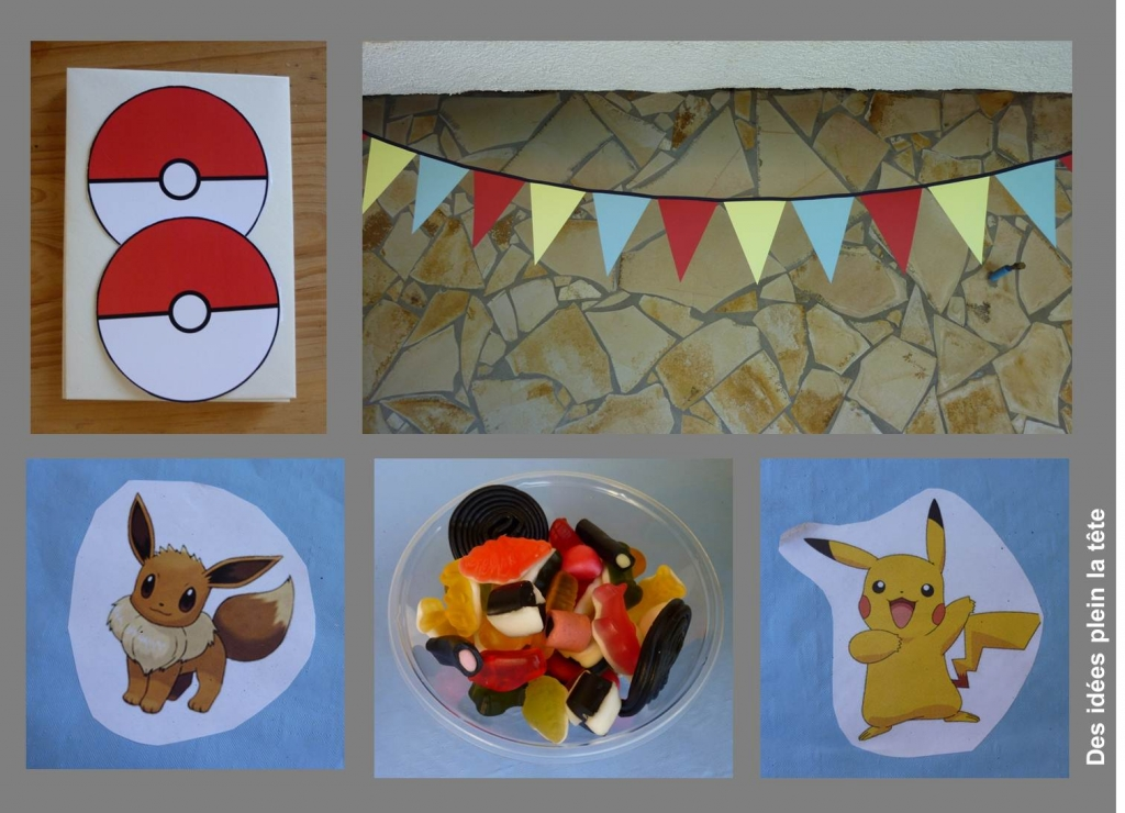 preview deco anniversaire pokemon. Black Bedroom Furniture Sets. Home Design Ideas